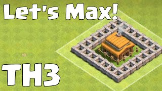 "getlinkyoutube.com-Clash Of Clans ""Townhall 3 Attack Strategy"" 