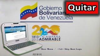getlinkyoutube.com-Canaima Liceo: Quitar La Imagen Del Gobierno, Entrar en la BIOS, Sin Errores 2016 [Actualizado]