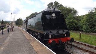 getlinkyoutube.com-34092 City of Wells & 13065 The East Lancashire Railway Saturday 25th July 2015