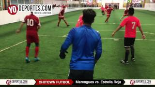 Los Merengues vs. Estrella Roja Chitown Futbol Finales Sabado