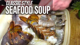 Seafood Soup by the BBQ Pit Boys