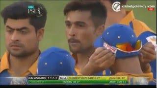 getlinkyoutube.com-Mohammad Amir Hat-trick in Pakistan Super League