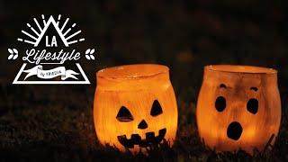 getlinkyoutube.com-Trick or Treat!ハロウィンにぴったりなキャンドルホルダー&トリートバッグの作り方(DIY Halloween Decorations) | LA Lifestyle by FRIEDIA