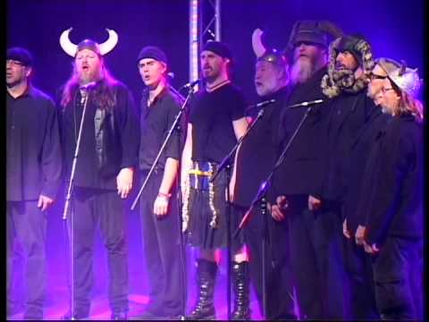 Spooky Mens Chorale - Dancing Queen. Shrewsbury Folk Festival