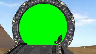 getlinkyoutube.com-Stargate Gate - camera motion - green screen effects