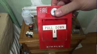 getlinkyoutube.com-Unboxing an Awesome Simplex fire alarm, elevator buttons, and a padlock from FB fan Dan G.