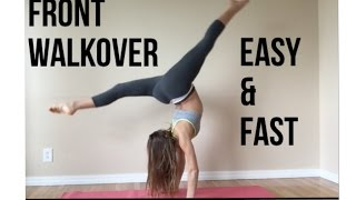 getlinkyoutube.com-How to do a FRONT WALKOVER (SIMPLE, FAST, AND EASY)