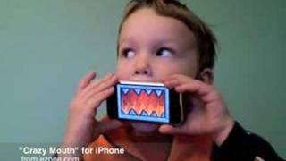 getlinkyoutube.com-Crazy Mouth: iPhone Toy by Ezone.com
