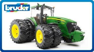 getlinkyoutube.com-Bruder Toys John Deere 7930 with Twin Tires  #09808