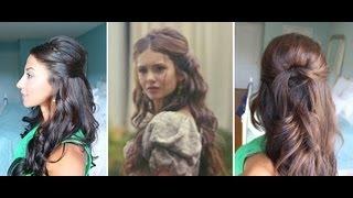 getlinkyoutube.com-Nina Dobrev Inspired Hairstyle
