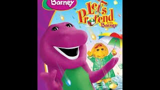 Barney Let's Petend With Barney Dvd Menu