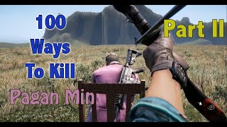 getlinkyoutube.com-100 Ways To Kill Pagan Min - Part 2 - Far Cry 4 Map Editor