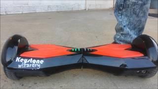 getlinkyoutube.com-Bluetooth Speaker and Remote Self Balancing Smart scooter lectrik 1 by Keystone Wizardry.