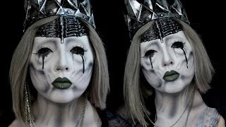 getlinkyoutube.com-Undead Wraith Queen Halloween Makeup Tutorial ft Alex Faction