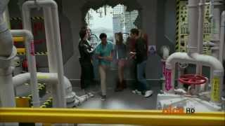 getlinkyoutube.com-Power Rangers Super Megaforce - United as One - Fight in the Gosei Great Megazord
