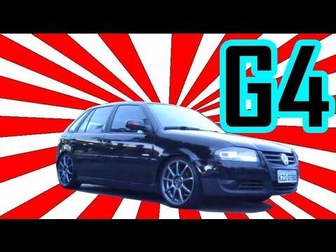 VW GOL G4 + Roda GRINGA + Baixo + TURBO = Canal D2M