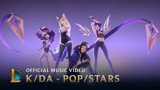 K/DA - POP/STARS (ft Madison Beer, (G)I-DLE, Jaira Burns) | Official Music Video - League of Legends width=