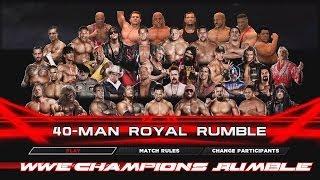 getlinkyoutube.com-WWE 2K14 - WWE Champions Rumble