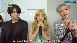 getlinkyoutube.com-[INDOSUB] 150821 Music Bank - Waiting Room Interview VIXX LR & JUNIEL