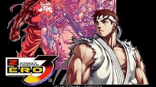 getlinkyoutube.com-ストZERO3 リュウでクリアっ! 最高難易度 | SFα3 - Ryu Hardest