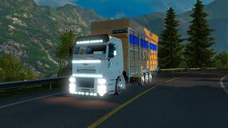 getlinkyoutube.com-Euro Truck Simulator 2 ford cargo  Aragaz Sektirme