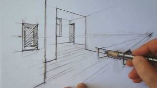 getlinkyoutube.com-drawing perspective - how to draw perspective