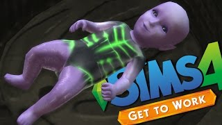 getlinkyoutube.com-ALIEN BABY - The Sims 4 - Get To Work #6