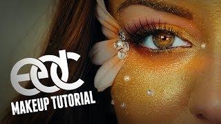 getlinkyoutube.com-EDC Rave Makeup Tutorial [iHeartRaves.com]