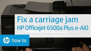 getlinkyoutube.com-Fixing a Carriage Jam - HP Officejet 6500a Plus e-All-in-One Printer (E710n)