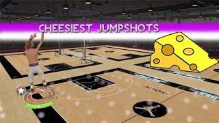 getlinkyoutube.com-CHEESIEST Jumpshots In NBA 2K15!!!