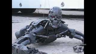 getlinkyoutube.com-TERMINATOR SALVATION Behind-the-Scenes T-600 Puppet Rehearsal