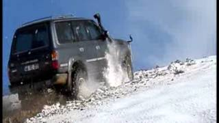 getlinkyoutube.com-Toyota landcruiser hdj80 extreme offroad action
