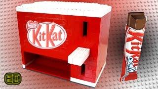getlinkyoutube.com-Lego KitKat Chocolate Bar Machine