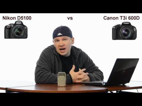 Nikon D5100 vs Canon T3i 600D - Which One Should I Buy???