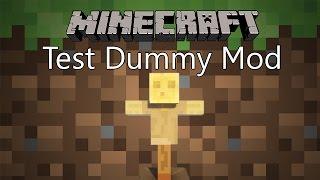 getlinkyoutube.com-Minecraft Mod รีวิว - Mod หุ่นทดลอง | Test Dummy Mod