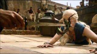 getlinkyoutube.com-Daenerys meets Barristan Selmy - Game of Thrones season 3 episode 1: Valar Dohaeris