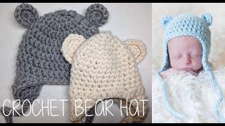 getlinkyoutube.com-HOW TO CROCHET A BEAR HAT