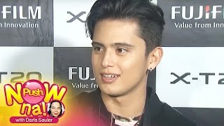 Push Now Na: James Reid defends Nadine Lustre from bashers