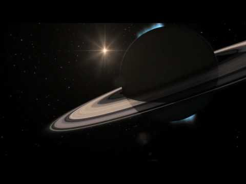 Animation Of The Sun Passing Behind Saturn [1080p]