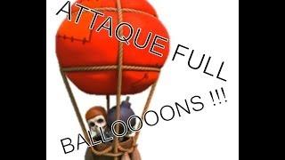 getlinkyoutube.com-Attaque full ballon clash of clans