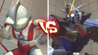 getlinkyoutube.com-Ultra street fighter 4 PC - Ultraman VS Gundam