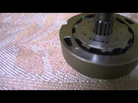 Ремонт насоса гидроусилителя Nissan Sanny