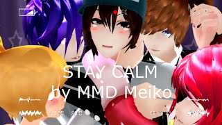 "[MMD Meiko] ""STAY CALM"" Five Nights at Freddys ไมค์สุดเคะ^ ^"
