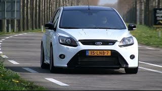getlinkyoutube.com-410HP Ford Focus RS w/ Milltek Exhaust | LOUD Revving & Accelerating!
