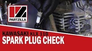 How to Check the Spark Plug on a Kawasaki KLX 110 | Partzilla.com