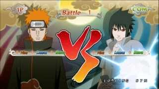 getlinkyoutube.com-Naruto Shippuden Ultimate Ninja Storm Generations Pain vs Sasuke Uchiha