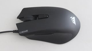 getlinkyoutube.com-Corsair Harpoon RGB Gaming Mouse Review
