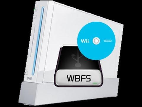 Como Añadir Juegos Wii iso a una Unidad Usb en formato wbfs WBFS Manager