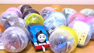 getlinkyoutube.com-THOMAS & FRIENDS Shining Capsule Toy きかんしゃトーマスのキラキラカプセルプラレール