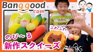 getlinkyoutube.com-【海外通販バングッド】のびーる&めずらしいぷにぷにスクイーズ★ ベイビーチャンネル squishy,banggood